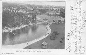 amp038071 - Willow Grove Park, Pennsylvania, PA, USA Postcard