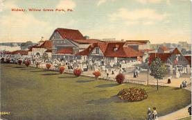 amp038078 - Willow Grove Park, Pennsylvania, PA, USA Postcard