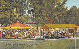 amp038087 - Conneaut Lake Park, Pennsylvania, PA, USA Postcard