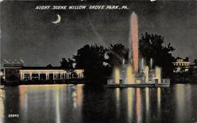 amp038089 - Willow Grove Park, Pennsylvania, PA, USA Postcard