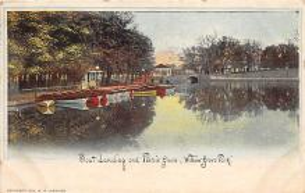 amp038118 - Willow Grove Park, Pennsylvania, PA, USA Postcard