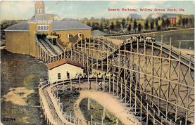 amp038123 - Willow Grove Park, Pennsylvania, PA, USA Postcard