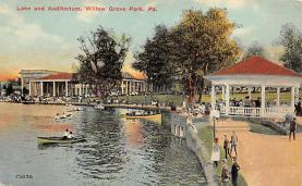 amp038128 - Willow Grove Park, Pennsylvania, PA, USA Postcard