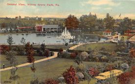 amp038129 - Willow Grove Park, Pennsylvania, PA, USA Postcard
