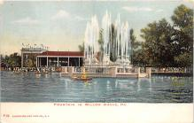 amp038130 - Willow Grove Park, Pennsylvania, PA, USA Postcard