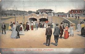 amp038131 - Willow Grove Park, Pennsylvania, PA, USA Postcard