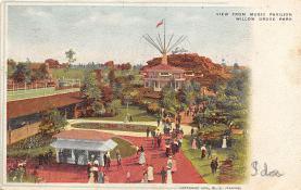 amp038132 - Willow Grove Park, Pennsylvania, PA, USA Postcard