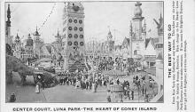 amp100054 - Amusement Park Postcard Post Card