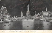 amp100069 - Amusement Park Postcard Post Card
