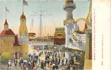 amp100146 - Amusement Park Postcard Post Card