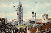 amp100184 - Amusement Park Postcard Post Card