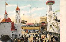 amp100204 - Amusement Park Postcard Post Card