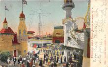 amp100254 - Amusement Park Postcard Post Card