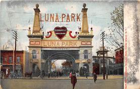 amp100291 - Amusement Park Postcard Post Card