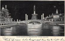 amp100292 - Amusement Park Postcard Post Card