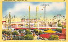 amp100297 - Amusement Park Postcard Post Card