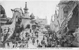 amp100335 - Amusement Park Postcard Post Card