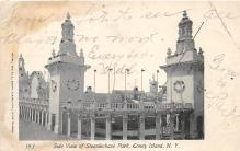 amp100384 - Amusement Park Postcard Post Card
