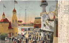 amp100389 - Amusement Park Postcard Post Card