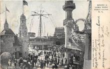 amp100399 - Amusement Park Postcard Post Card