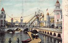 amp100408 - Amusement Park Postcard Post Card