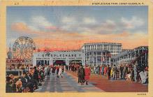 amp100422 - Amusement Park Postcard Post Card
