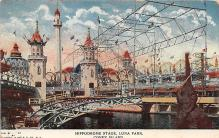amp100423 - Amusement Park Postcard Post Card