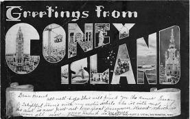 amp100464 - Amusement Park Postcard Post Card