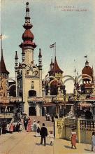 amp100491 - Amusement Park Postcard Post Card