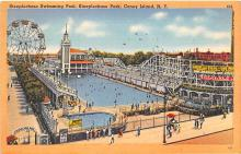 amp100495 - Amusement Park Postcard Post Card