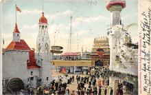 amp100517 - Amusement Park Postcard Post Card