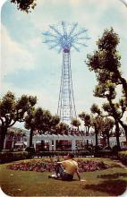 amp100521 - Amusement Park Postcard Post Card