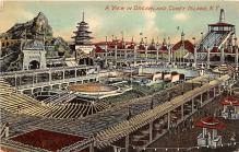 amp100523 - Amusement Park Postcard Post Card