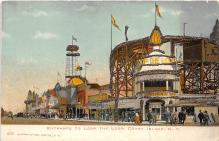 amp100535 - Amusement Park Postcard Post Card
