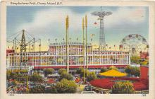 amp100558 - Amusement Park Postcard Post Card