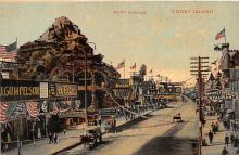 amp100564 - Amusement Park Postcard Post Card