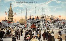 amp100579 - Amusement Park Postcard Post Card