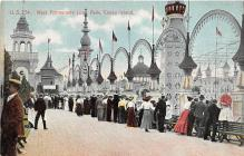amp100582 - Amusement Park Postcard Post Card