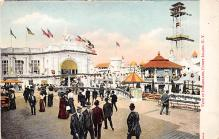 amp100605 - Amusement Park Postcard Post Card