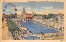 amp100618 - Amusement Park Postcard Post Card