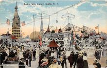 amp100623 - Amusement Park Postcard Post Card