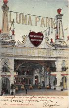 amp100633 - Amusement Park Postcard Post Card