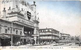 amp100674 - Amusement Park Postcard Post Card