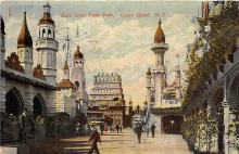amp100681 - Amusement Park Postcard Post Card