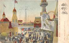 amp100688 - Amusement Park Postcard Post Card