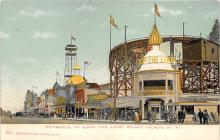 amp100690 - Amusement Park Postcard Post Card