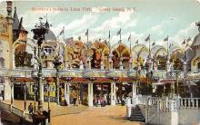 amp100715 - Amusement Park Postcard Post Card