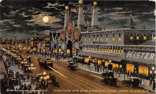 amp100716 - Amusement Park Postcard Post Card