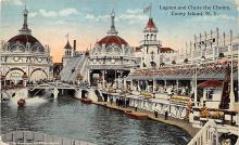 amp100719 - Amusement Park Postcard Post Card
