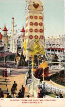 amp100732 - Amusement Park Postcard Post Card